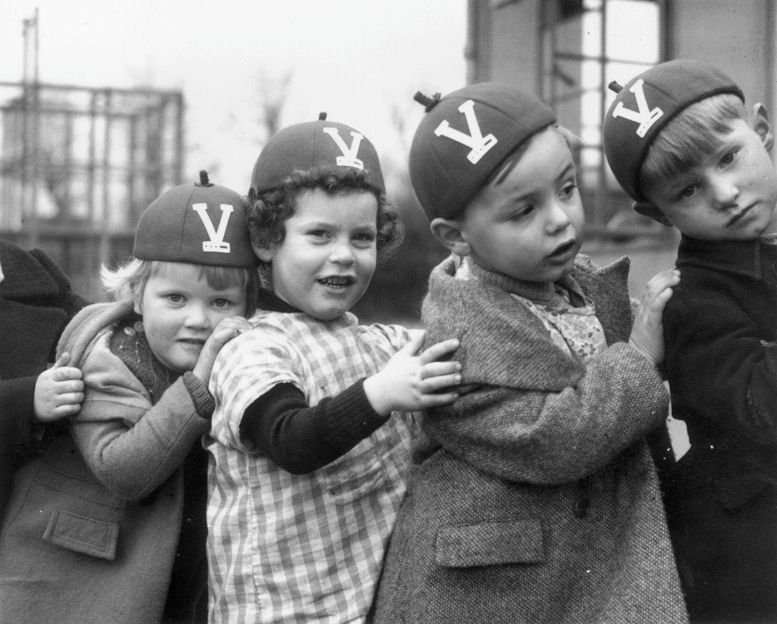 Victory V Caps