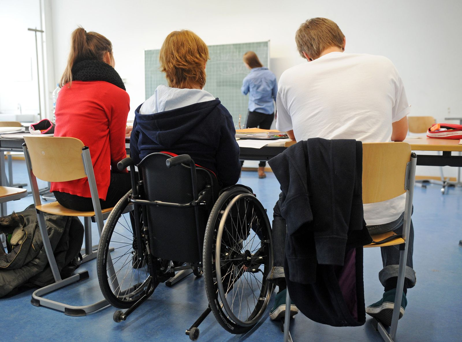 Inklusion / Behinderten Schule