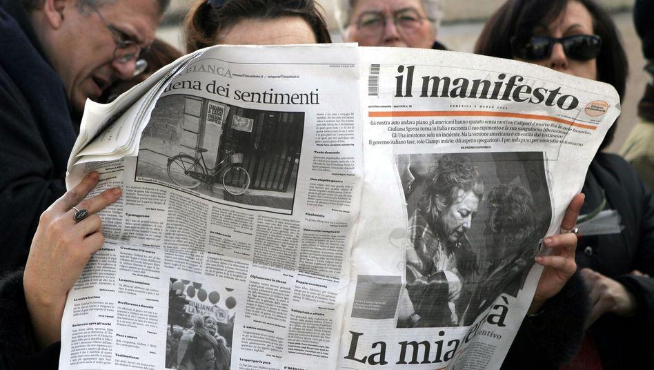"""Leser von """"Il Manifesto"""": Das alte Feindbild funktioniert nicht mehr"""