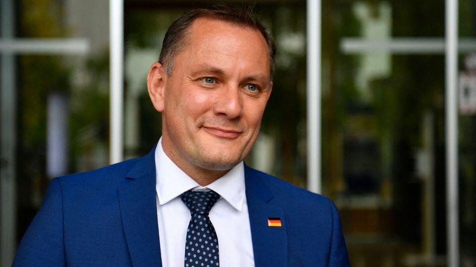 AfD-Chef Tino Chrupalla: »Fällt mir jetzt gar keins ein«
