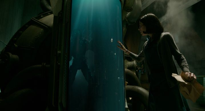 """Sally Hawkins in """"Shape of Water"""""""