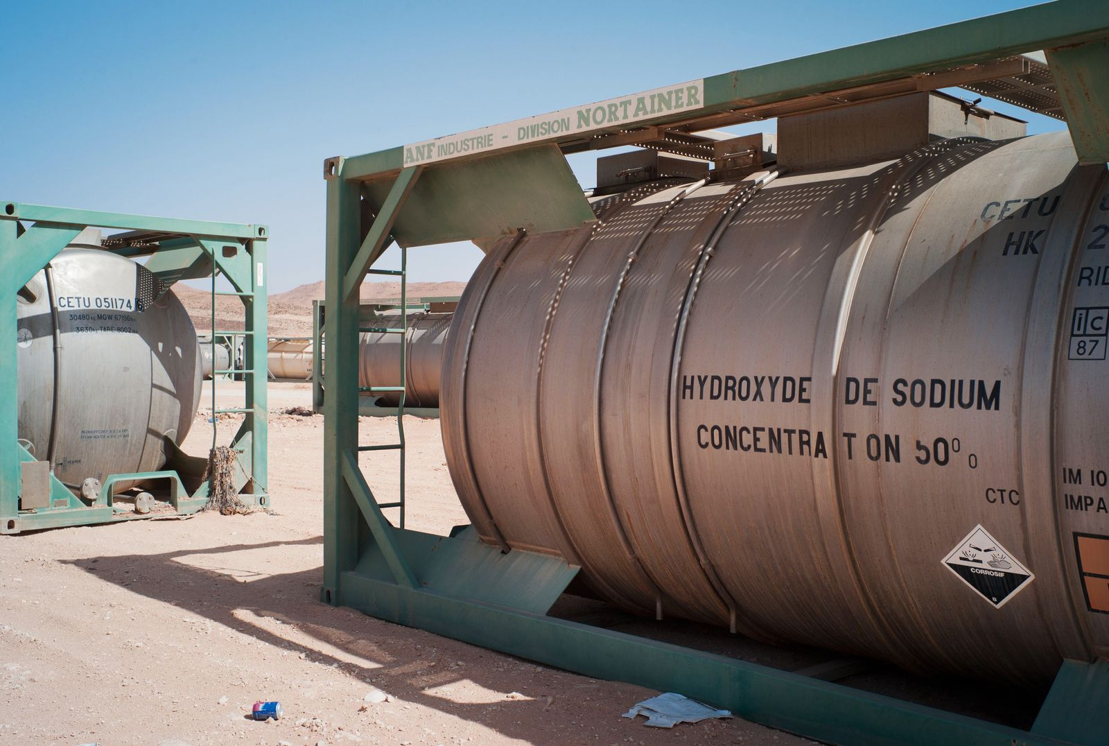 Chemiewaffen / Libyen / Waffenlager Wüste