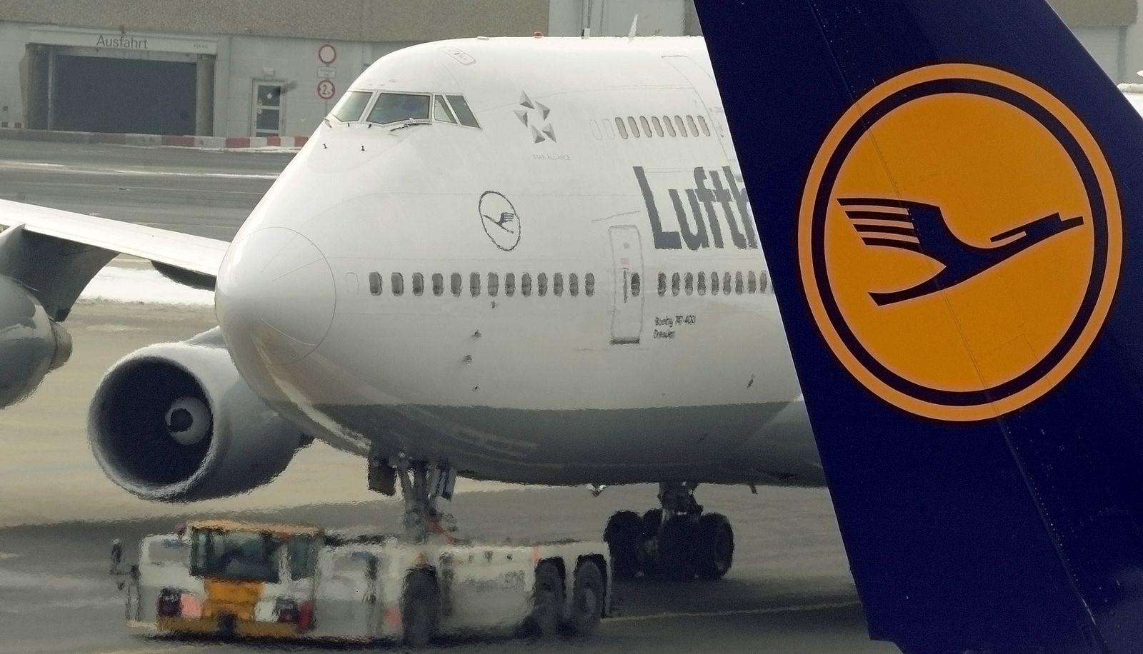 NICHT VERWENDEN Piloten votieren fuer Streik bei der Deutschen Lufthansa