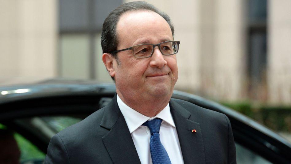 Reaktionen auf Terror-Einsatz: Hollande erwartet rascheAuslieferung Abdeslams