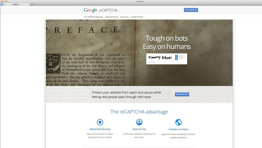 Captchas: Zahlenrätsel, die nur noch Computer lösen können