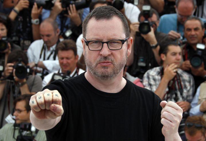 Lars von Trier in Cannes