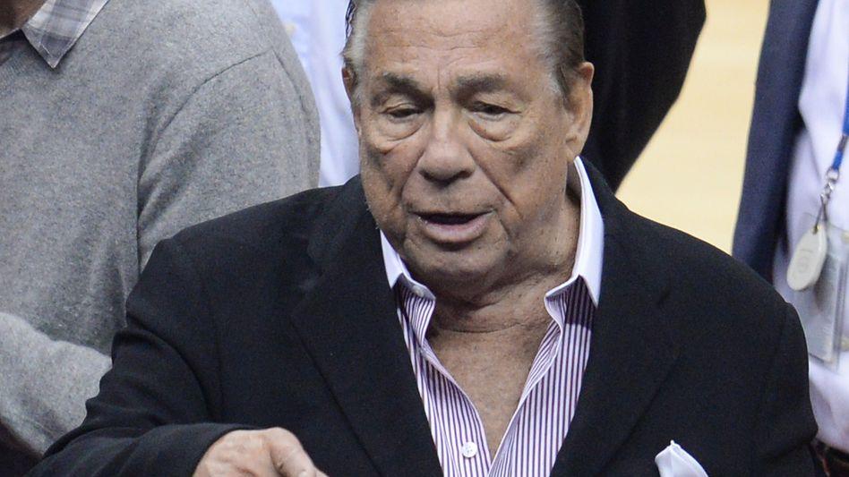 Noch-Clippers-Besitzer Sterling: Erste öffentliche Äußerung