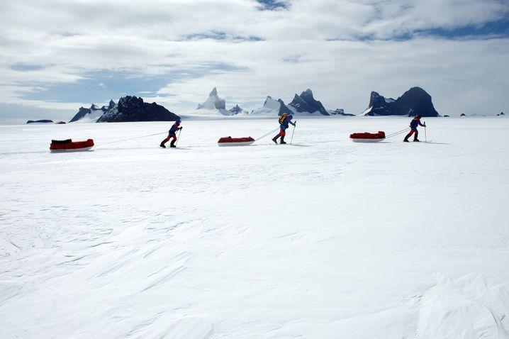 Antarktis: Martin war überrascht von der Lebensfeindlichkeit der Polgebiete