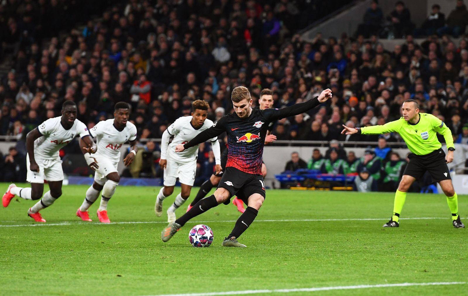 Tottenham Hotspur vs RB Leipzig, London, United Kingdom - 19 Feb 2020
