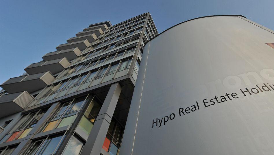 Hypo Real Estate: Der Bürgschaftsrahmen für die Bank soll sinken