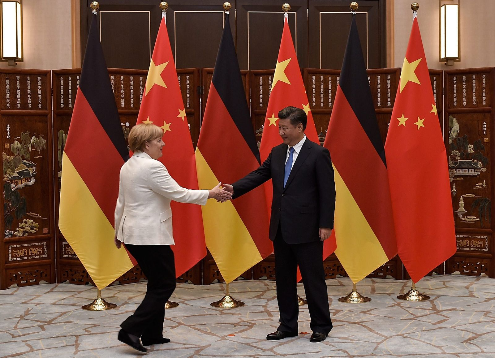 G20 Summit in Hangzhou / Merkel / XI Jinping