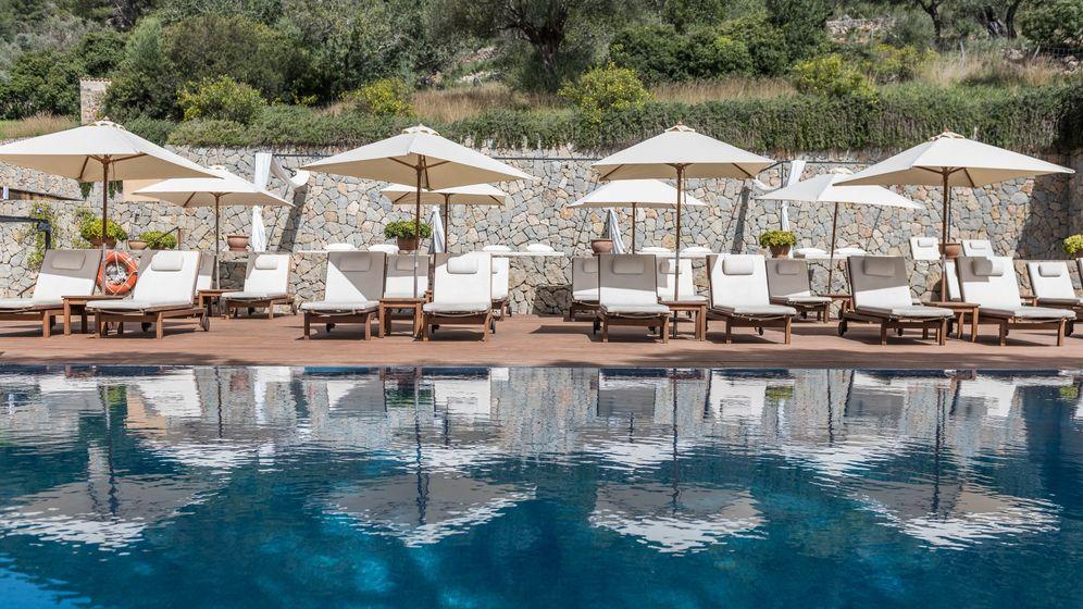 Pool im Hotel Son Brull, Pollenca, Mallorca