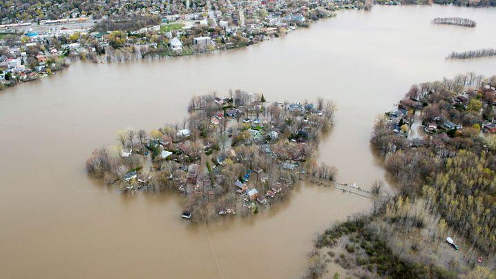 Kanada: Schwere Überschwemmungen in mehreren Provinzen