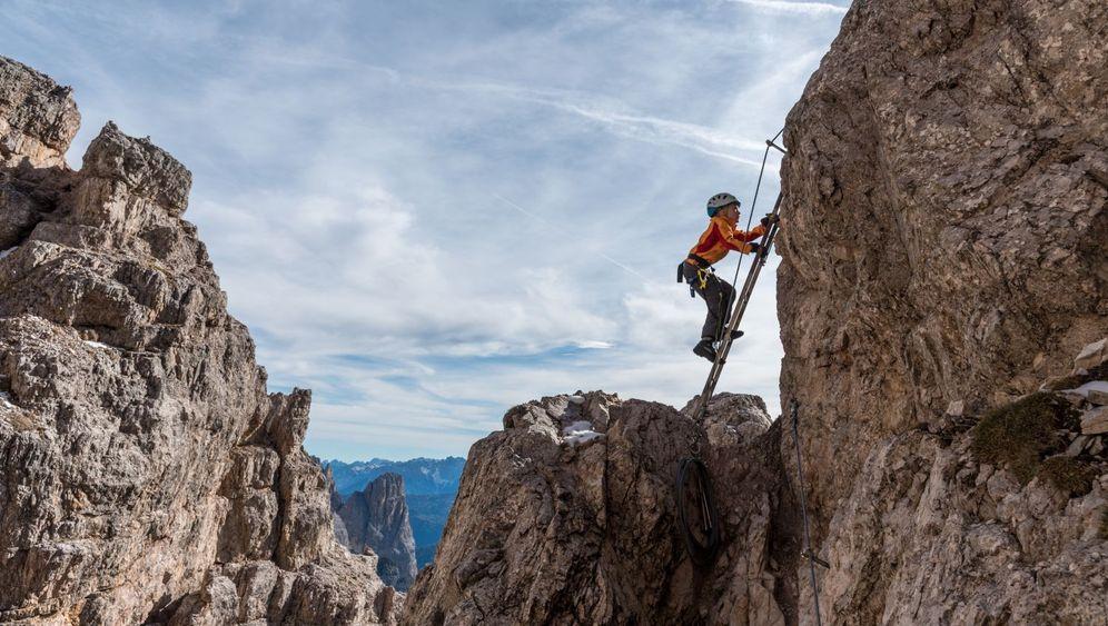 """Klettersteige mit Kindern: """"Wanderwege finden sie langweilig"""""""