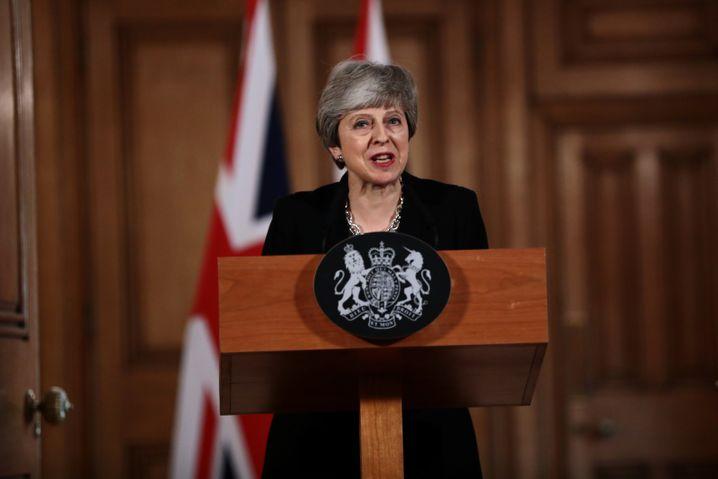 """Theresa May verkündet ihren neuen Brexit-Kur: """"Nationale Einheit"""""""