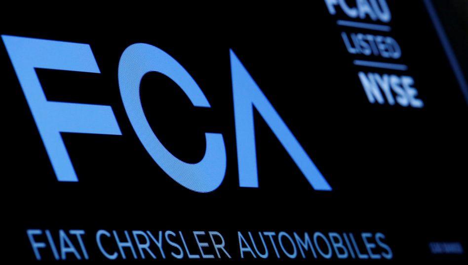 Fiat Chrysler musste rund 800 Millionen Euro Strafe zahlen