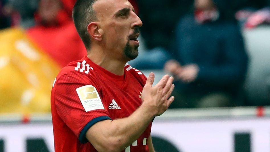 Das war es noch nicht: Franck Ribéry macht in Florenz weiter