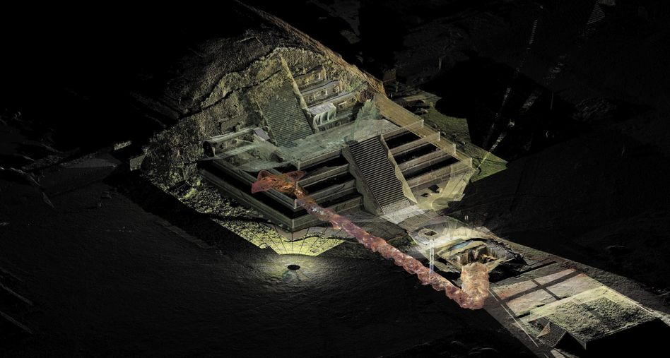 Mexiko: Forscher finden Tor zur Unterwelt von Teotihuacán