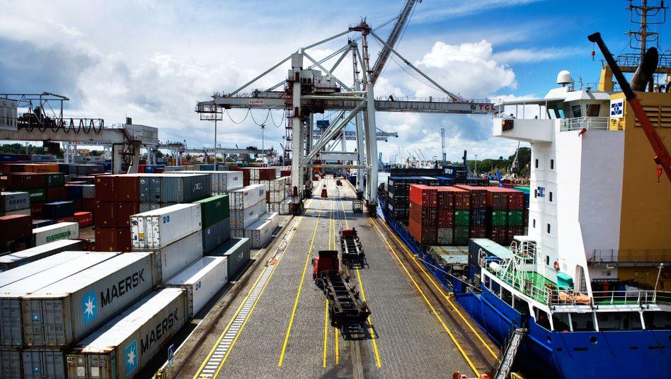 Hafen in Portugal: Die Probleme des Euroraums sind nach Norden gewandert