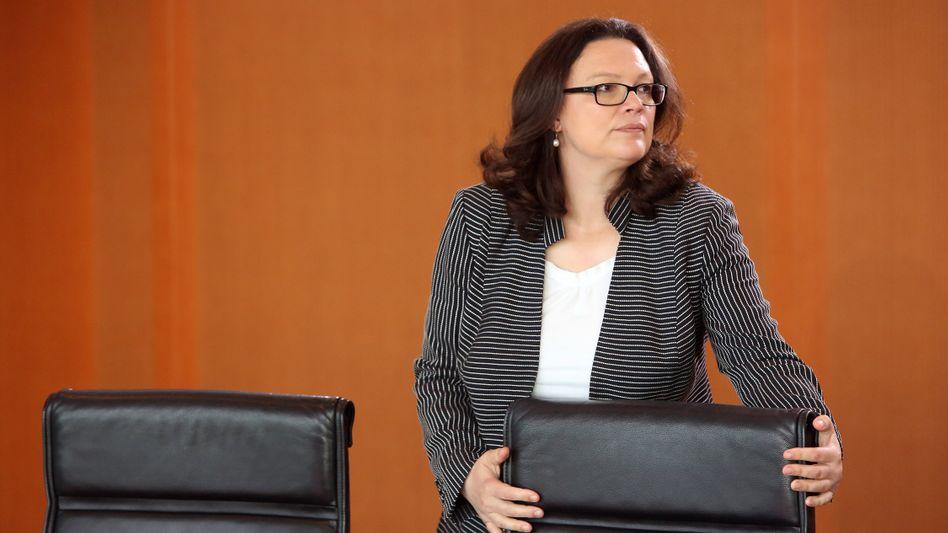 Ministerin Nahles