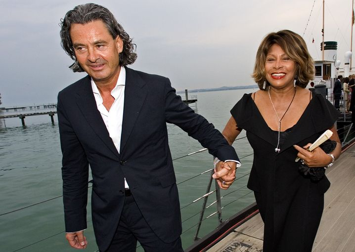 Tina Turner and her German husband Erwin Bach (in 2007 in Bregenz): The couple married over the weekend on Lake Zurich.