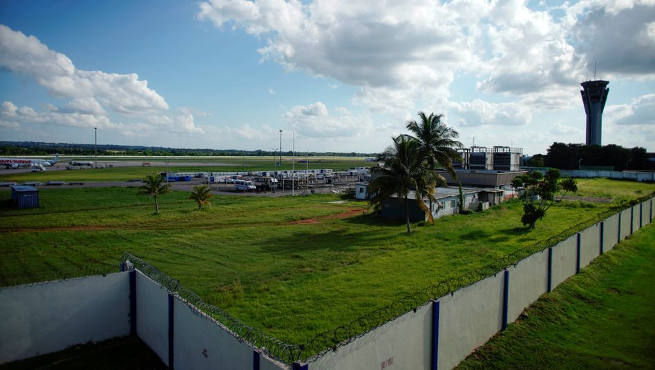 Jose Marti International Airport in Havanna, Kuba