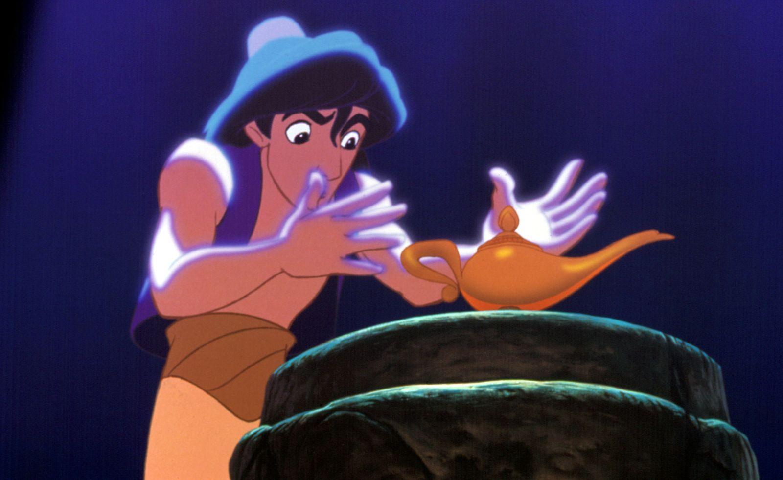 ALADDIN, Aladdin, 1992. (c) Walt Disney/ Courtesy: Everett Collection.