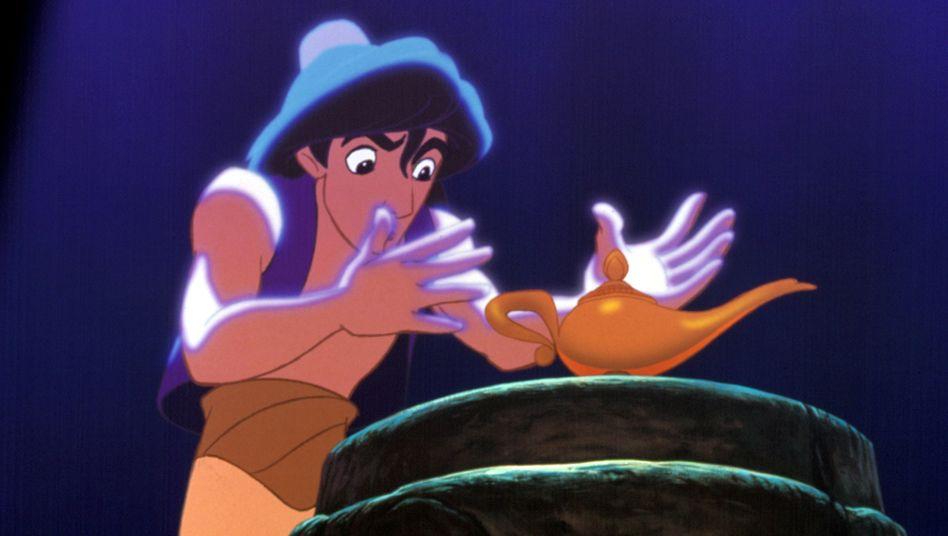 Aladin in der Walt-Disney-Variante