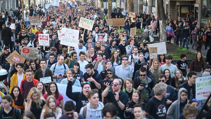 Artikel 13 und Uploadfilter: So wurde in deutschen Städten protestiert
