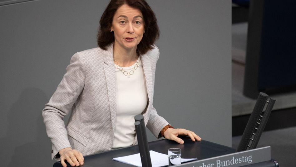 """Katarina Barley (SPD): """"Wir pflegen ein enges Verhältnis zu Russland"""""""