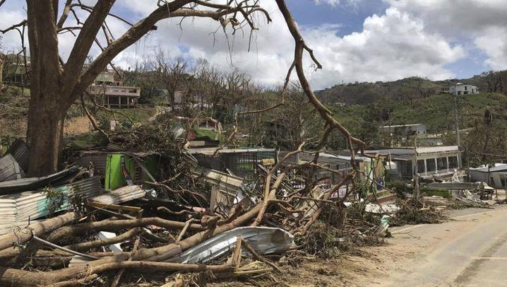 "Hurrikan ""Maria"": Puerto Rico nach dem Jahrhundertsturm"