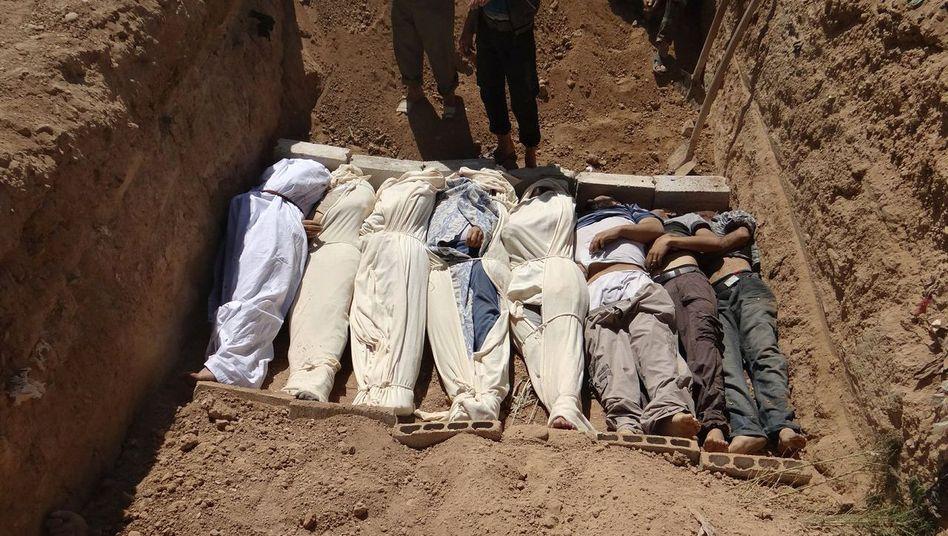 Opfer des Chemiewaffenangriffs vom 21. August 2013: Vorwürfe an den türkischen Geheimdienst