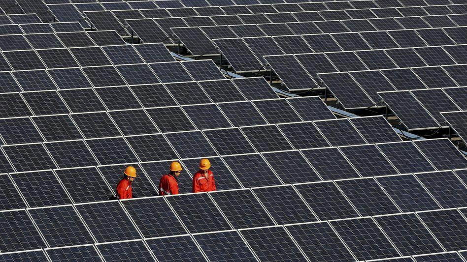 Solarpark in China (2014)