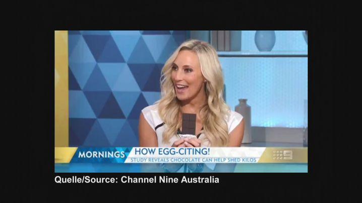 """Australisches TV """"How egg-citing"""": Zu Ostern kam die Schoko-Diät genau richtig"""