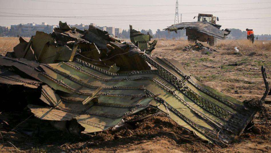Trümmerteile in der Nähe von Teheran: Ruf der Raketenmacht in Gefahr