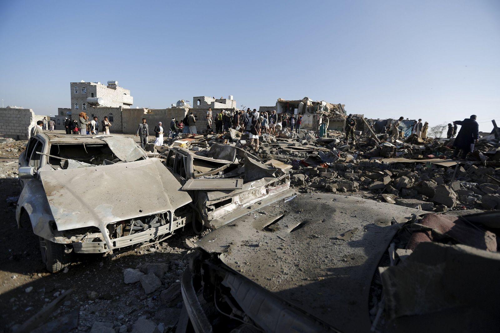 Jemen/ Saudi-Arabien/ Luftangriffe/