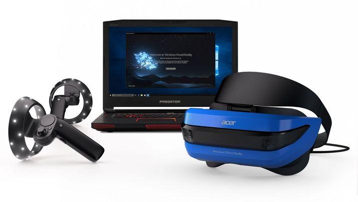 Virtual Reality: Neue Headsets von Acer und HP