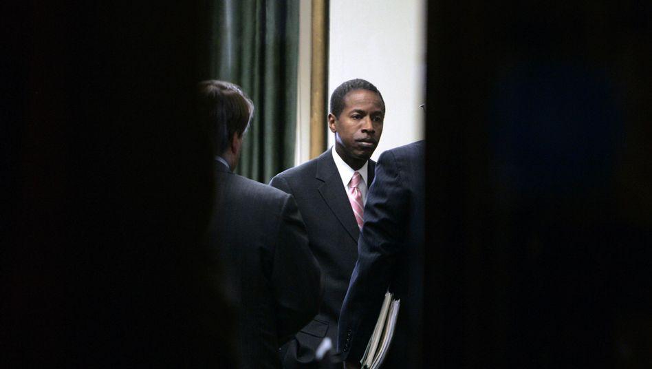 New Yorker Senator Smith (Archivbild): In Handschellen abgeführt