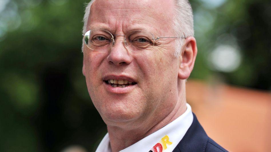 """BDR-Präsident Scharping (Archiv): """"Seit Jahren keinen Dopingfall mehr"""""""