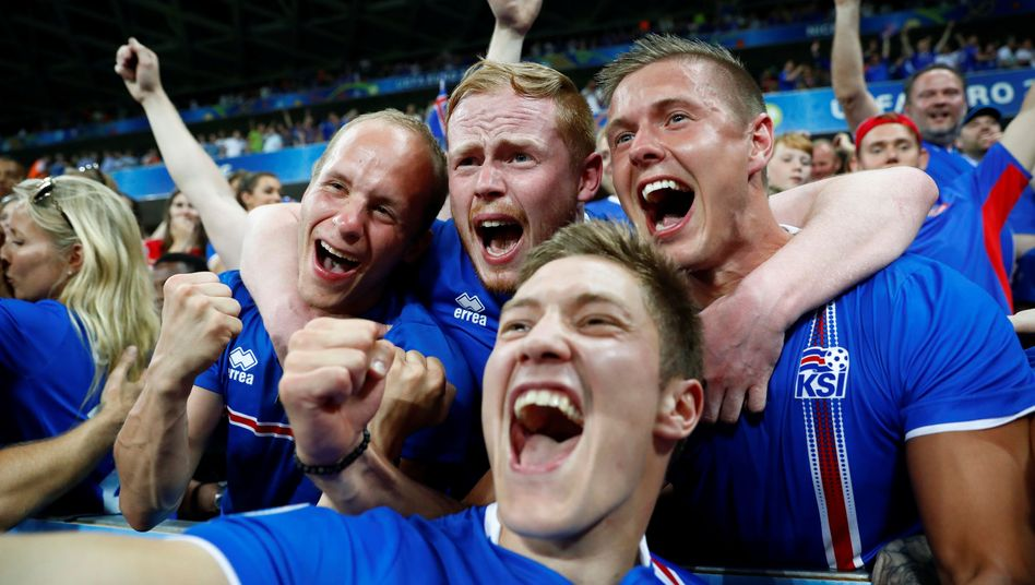 Islands Sieg gegen England: Uuuhhh, Sensationsdóttir!