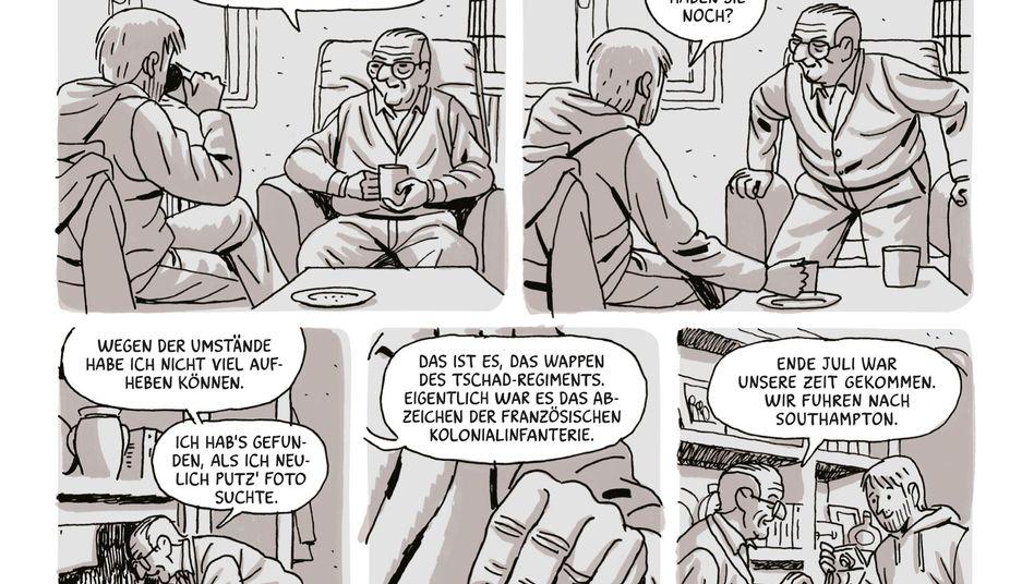 """Szene aus Paco Rocas Graphic Novel """"Die Heimatlosen"""": Unbekannte Helden"""