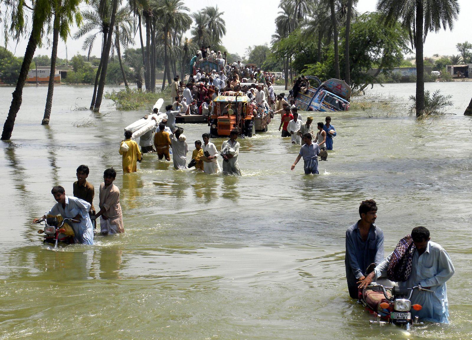 Hochwasser in Pakistan 2010