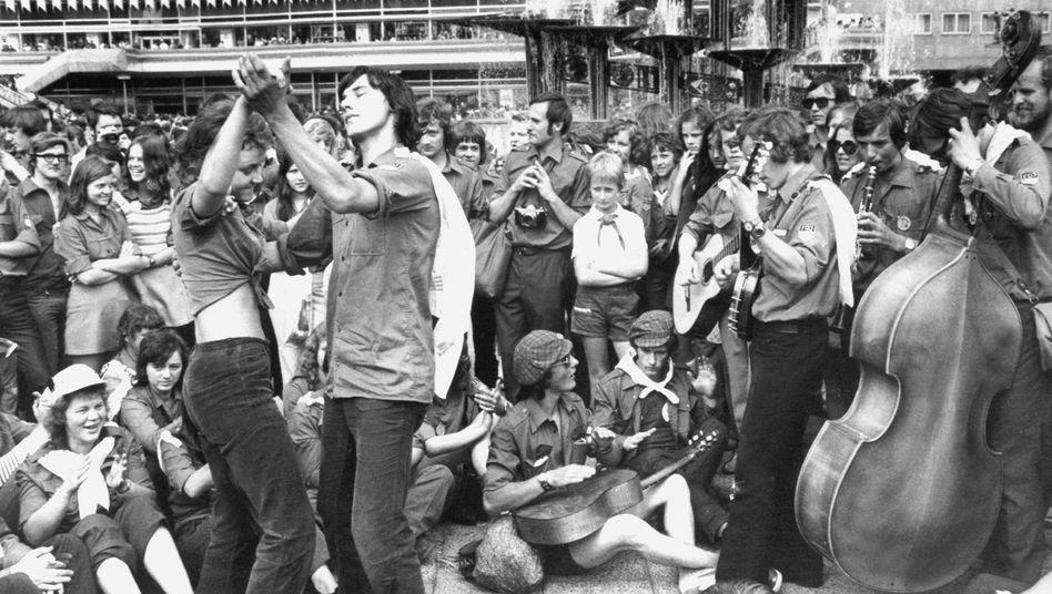 29. Juli 1973: Musik auf dem Alexanderplatz