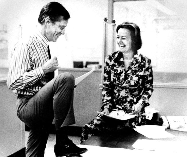 """Chefredakteur Bradlee, Verlegerin Graham 1971: """"Recht aufmüpfig"""""""