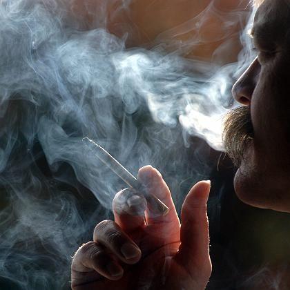 Rauchen: Irreparable Schäden an den Lungenbläschen