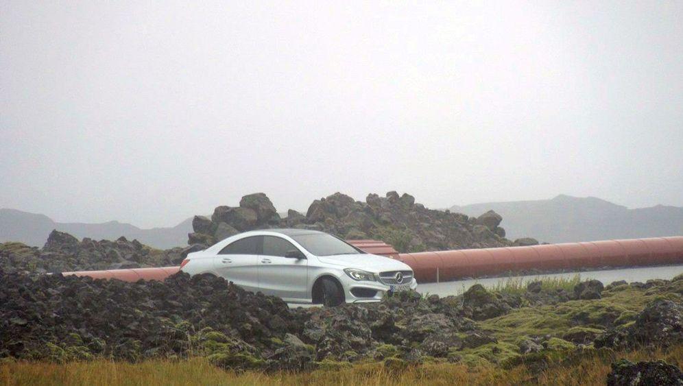 Erlkönig Mercedes A-Klasse Coupé: Enttarnt auf Island