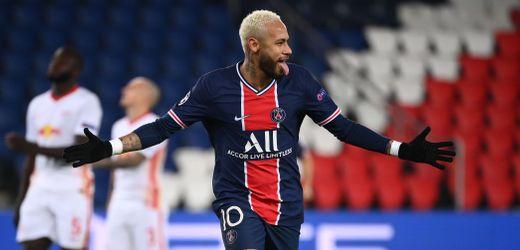 Champions League: Paris Saint-Germain schlägt RB Leipzig – Neymar trifft zum Sieg