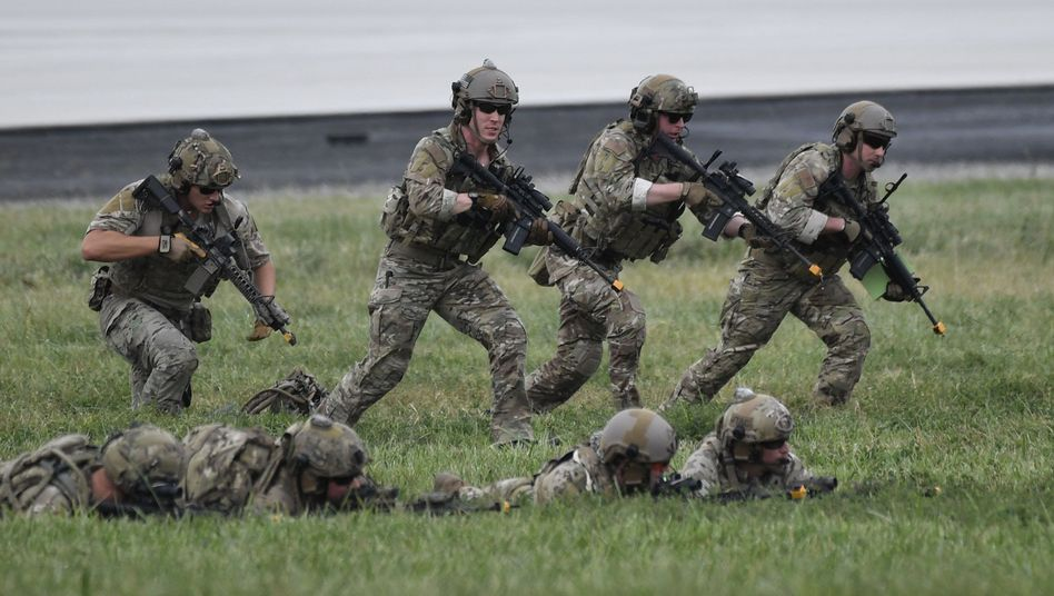 Militärübung Defender