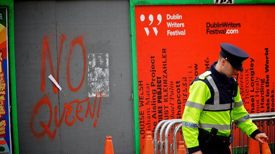 Polizist in Dublin (Symbolbild)