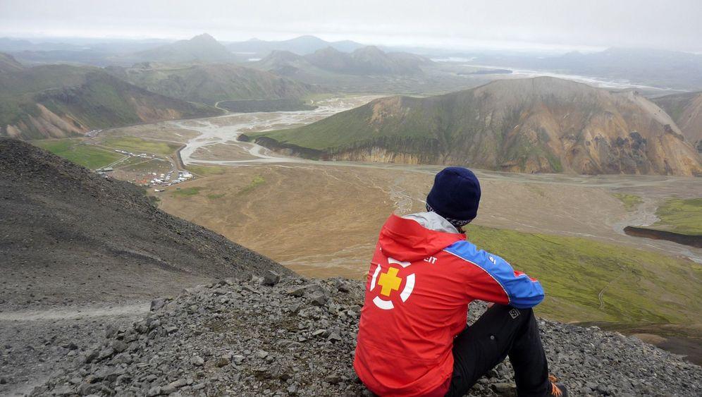 Island: Notfallretter im Einsatz